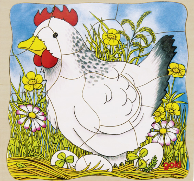 Chicken Layer Puzzle