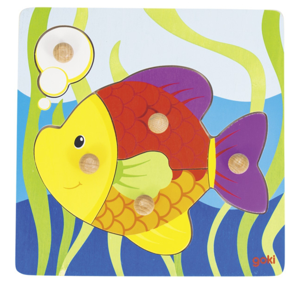 Lift Out Fish Puzzle