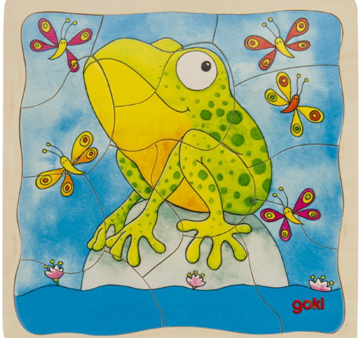 Frog Layer Puzzle