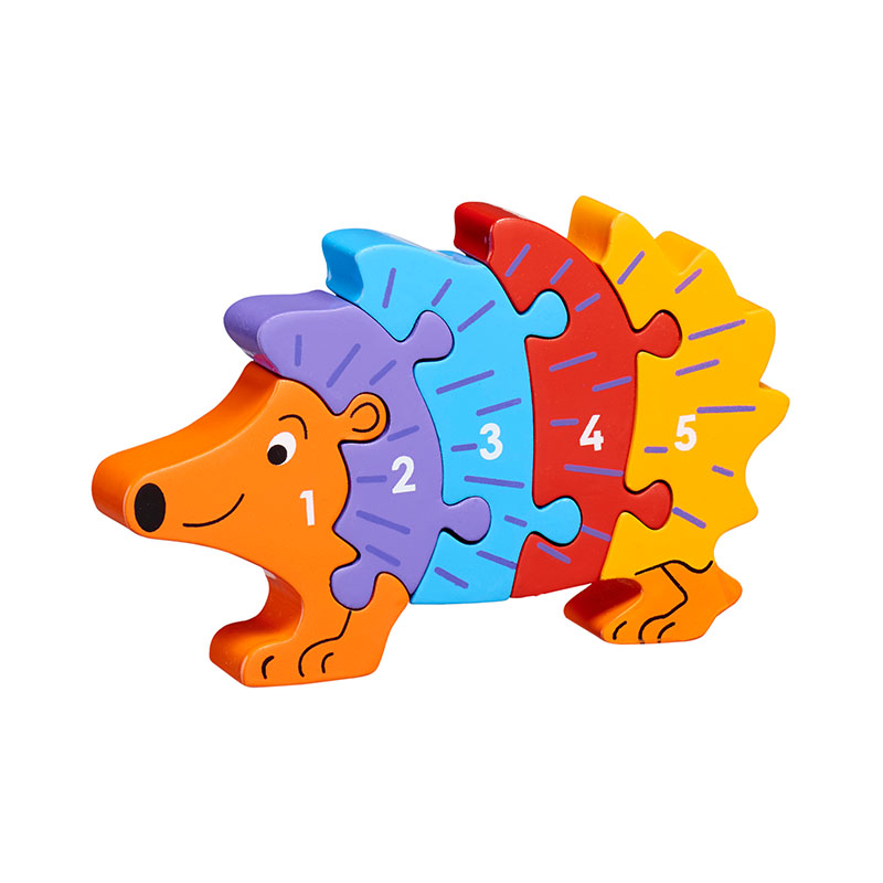 Hedgehog 1-5 jigsaw