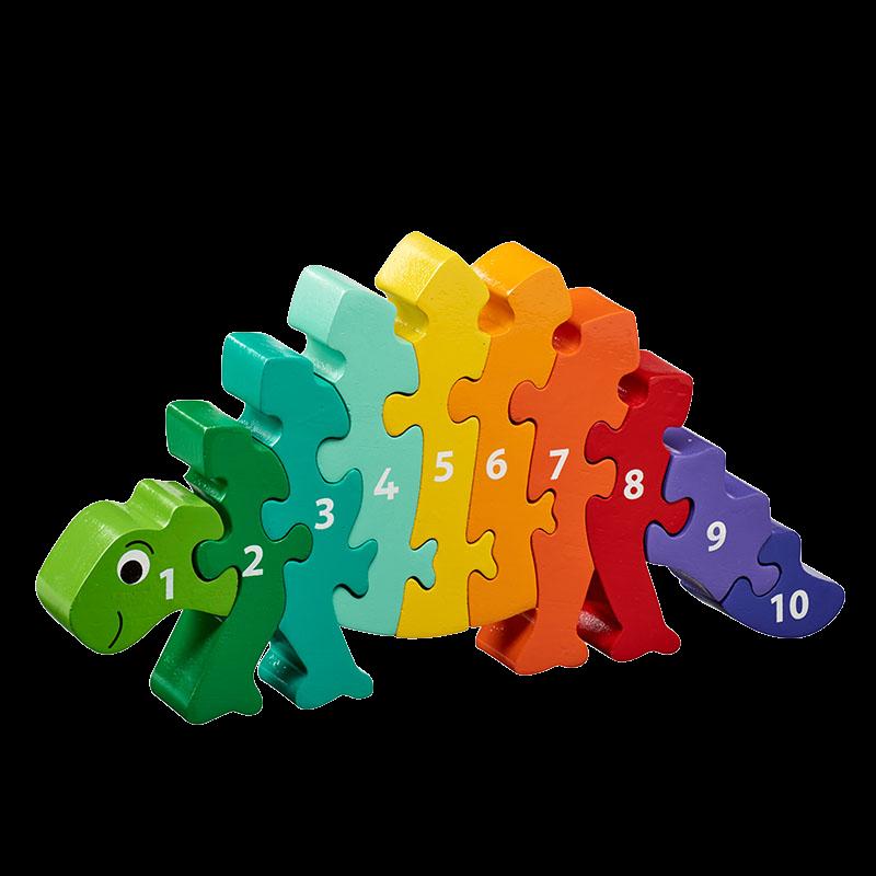 Dinosaur 1-10 jigsaw