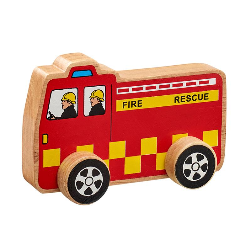 Fire engine Push Along