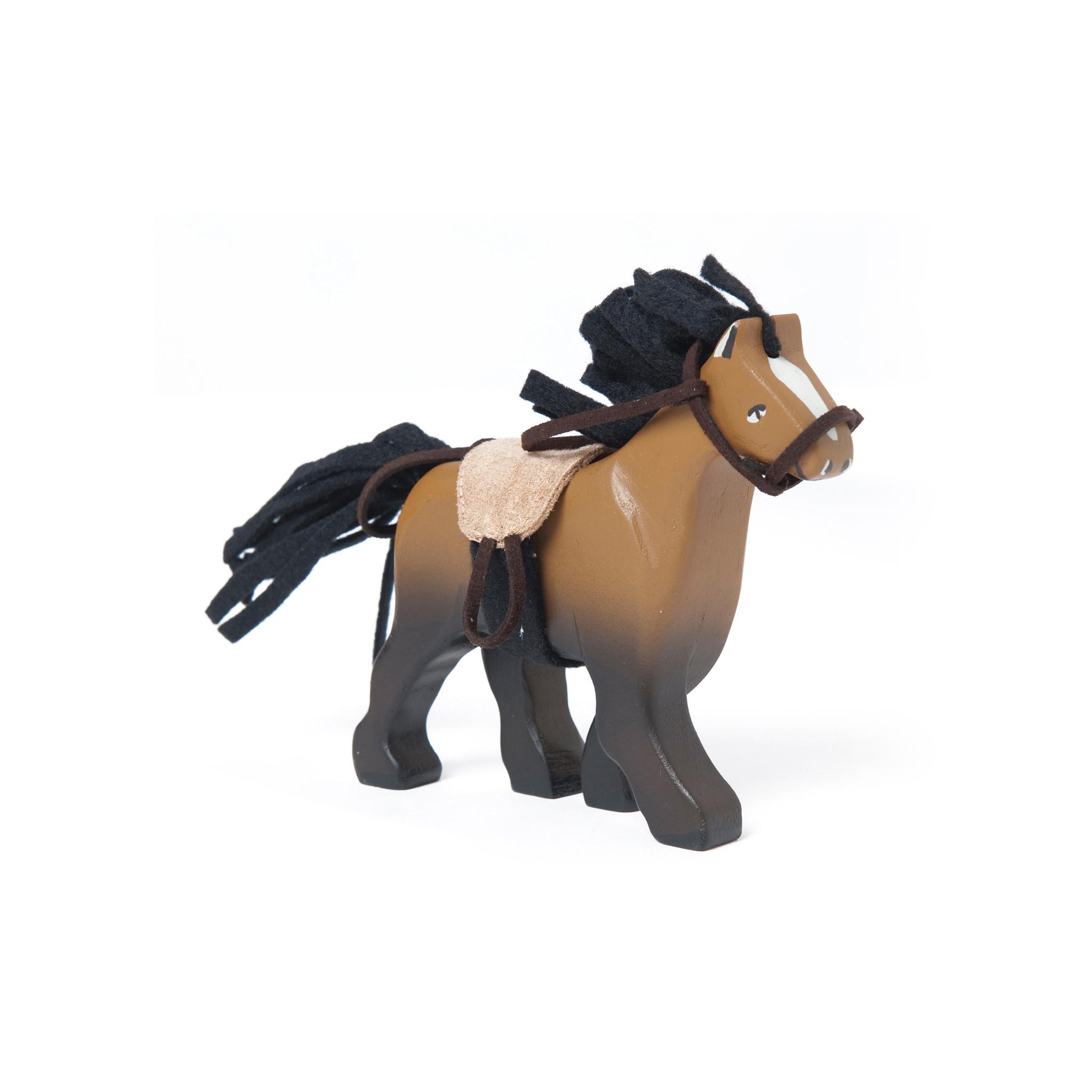Brown Wooden Horse