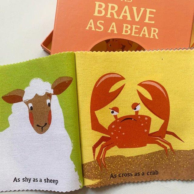 As Brave as a Bear Rag Book