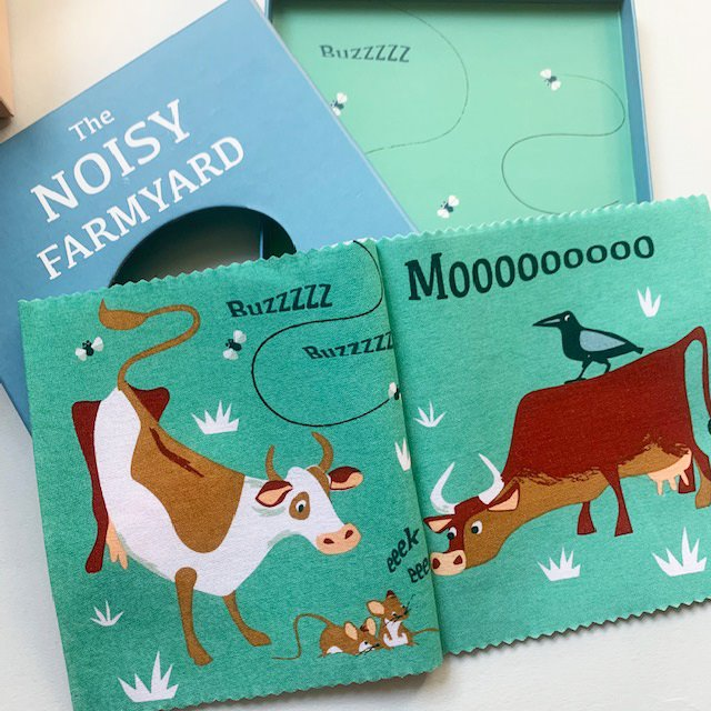 Noisy Farmyard Rag Book