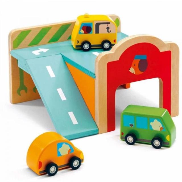 Wooden Mini Garage